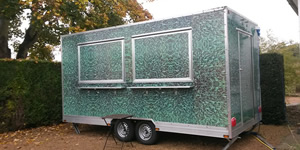 manufacturing catering trailers